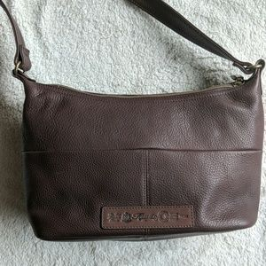 Fossil Brown Leather Hobo Purse